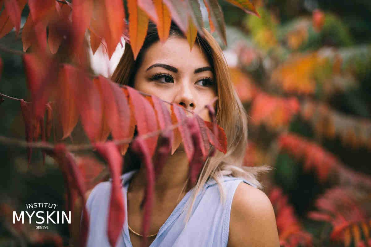 soin du visage et de la peau pour l'automne